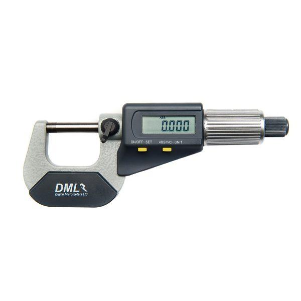 DML DM3025 IP54 Digital Micrometer 0-25mm (0-1″)