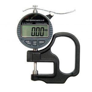 DML DML3031 0.01mm Digital Thickness Gauge 0-12.7mm