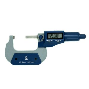 Moore & Wright MW200‑02DBL Value Line Digital Micrometer 25-50mm (1-2″)