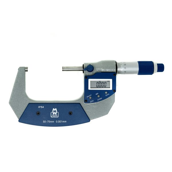 Moore & Wright 50-75mm IP54 Digital Micrometer MW201-03DAB