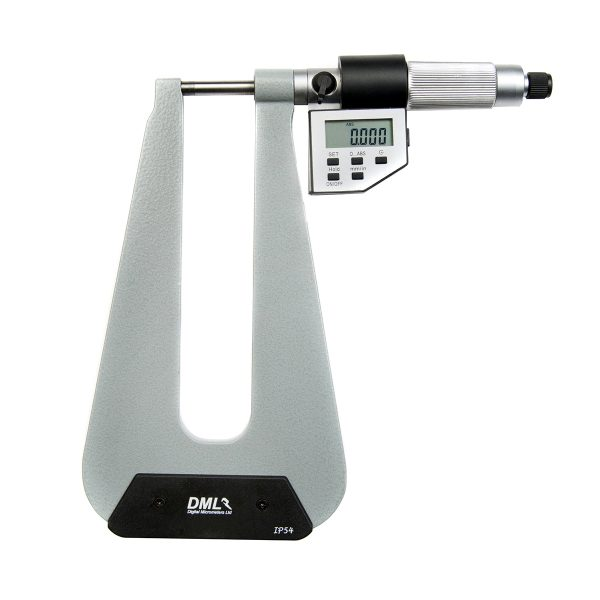DML DM4025DT150 Micrometer 150mm Throat 0-25mm (0.1″)