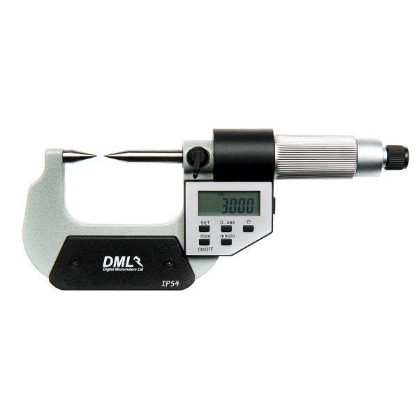 DML DM4025P Point Micrometer 0-25mm (0.1″)