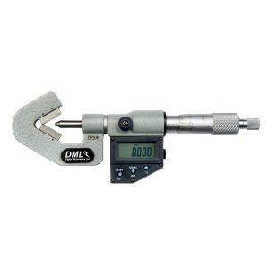 DML DM4025V115 Three Flute V Anvil Micrometer 1-15mm (0.03-0.5″)