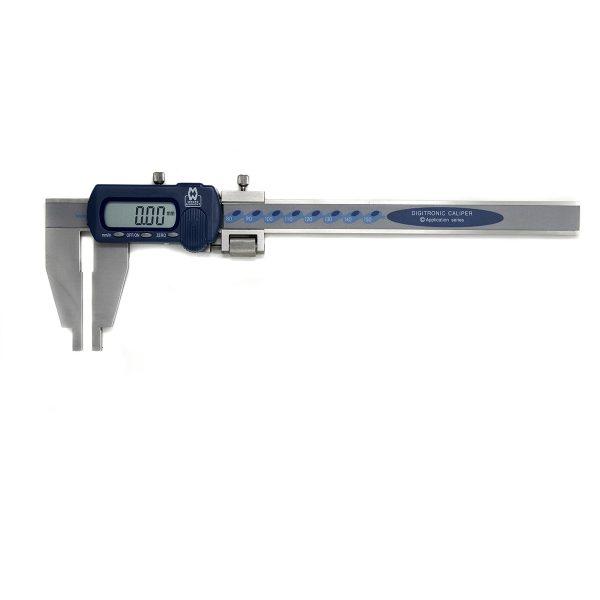 "Moore & Wright MW110‑15DLJ Digital Long Jaw Caliper 0-150mm (0-6"")"