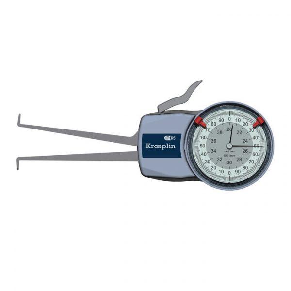 "Kroeplin H220, Internal Metric Calipers,20-40mm (0.8-1.6"")"