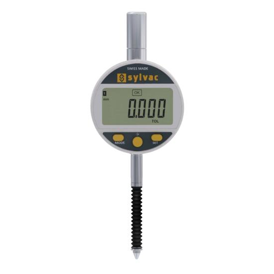 Sylvac 30-805-5305 (0.001mm) IP67 Work Advanced Digital Indicator 0-12.5mm (0-0.5″)