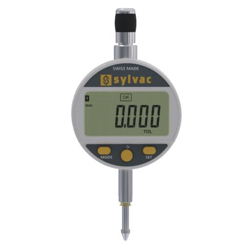 Sylvac 30-805-5301 (0.001mm) S_Dial Work Advanced IP54 Digital Indicator 0-12.5mm (0-0.5″)