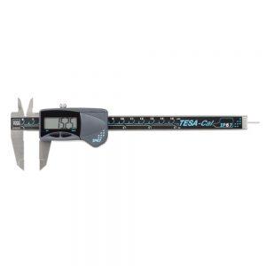 TESA 00530141 TESA-Cal IP67 Digital Caliper (Round Depth Rod) 0-150mm (0-6″)