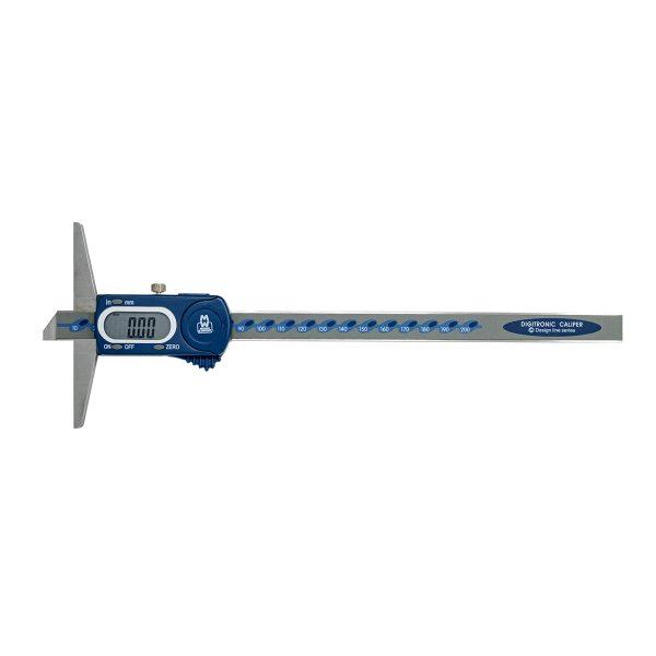 Moore & Wright MW170-20DB Digital Depth Gauge Caliper 0-200mm (8″)