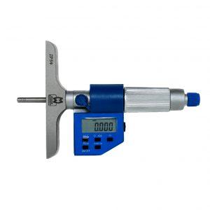 Moore & Wright MW305‑00DDL Digital Depth Micrometer 0-25mm (0-1″)