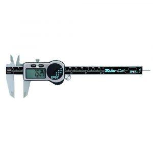 TESA 00530321Twin-Cal IP67 Digital Caliper Round Depth Rod 0-150mm (0-6″)