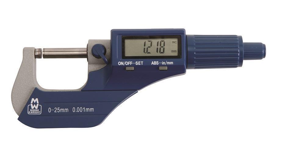 0-25mm Value Line Digital Micrometer MW200-01DBLMicrometers