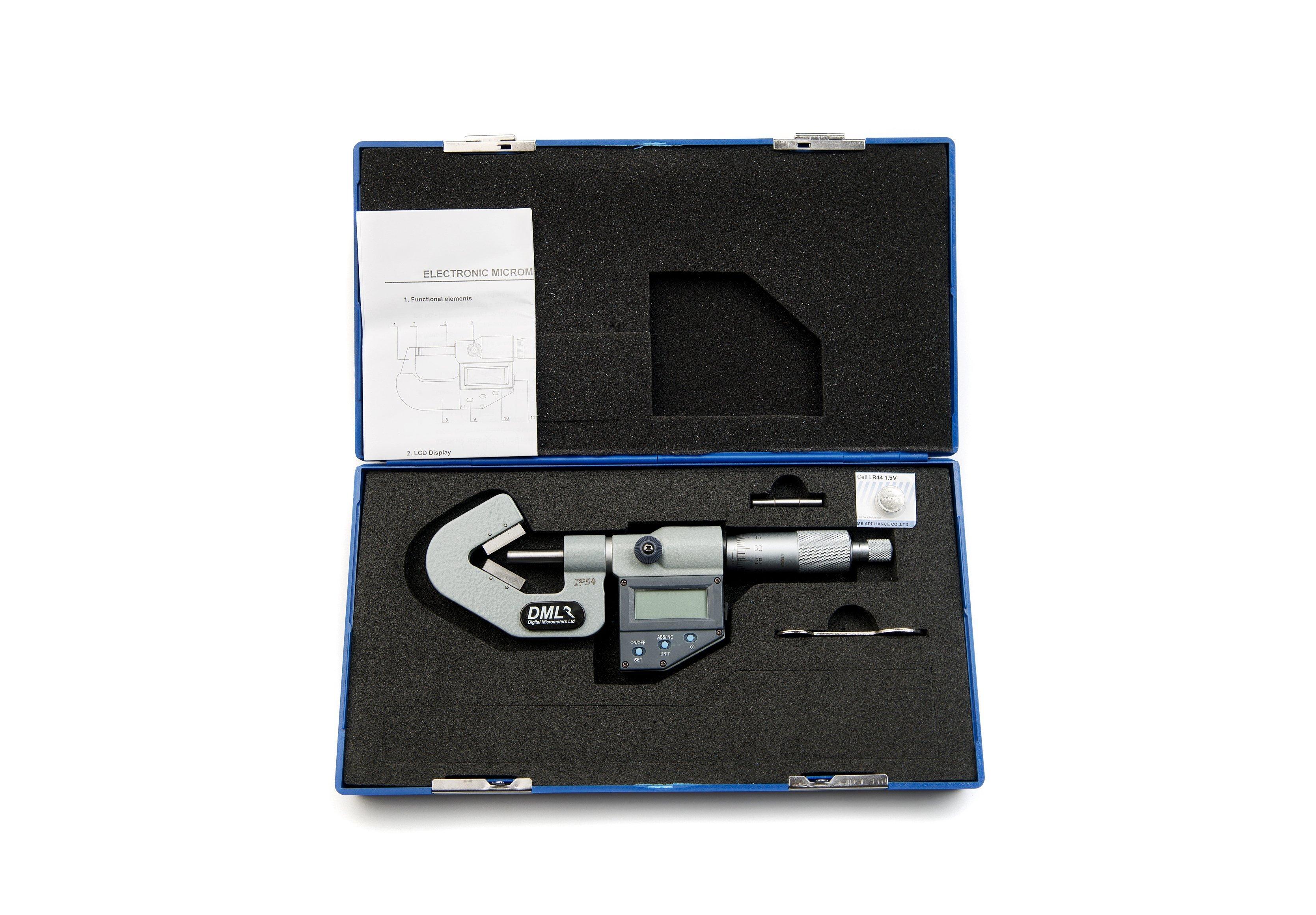 20mm V Anvil Micrometer DM4025V520Micrometers