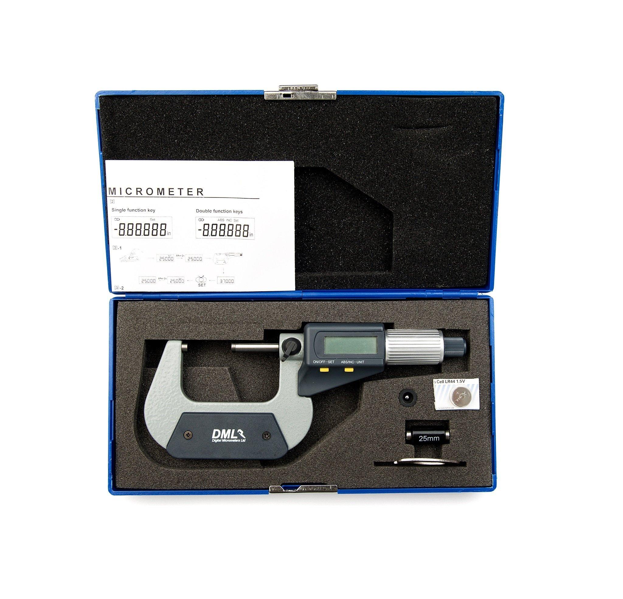 25-50mm IP54 Digital Micrometer DM3050Micrometers
