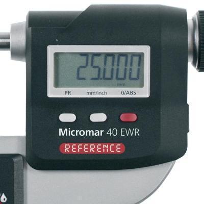 25-50mm Micromar IP65 Digital Micrometer 40EWRMicrometers