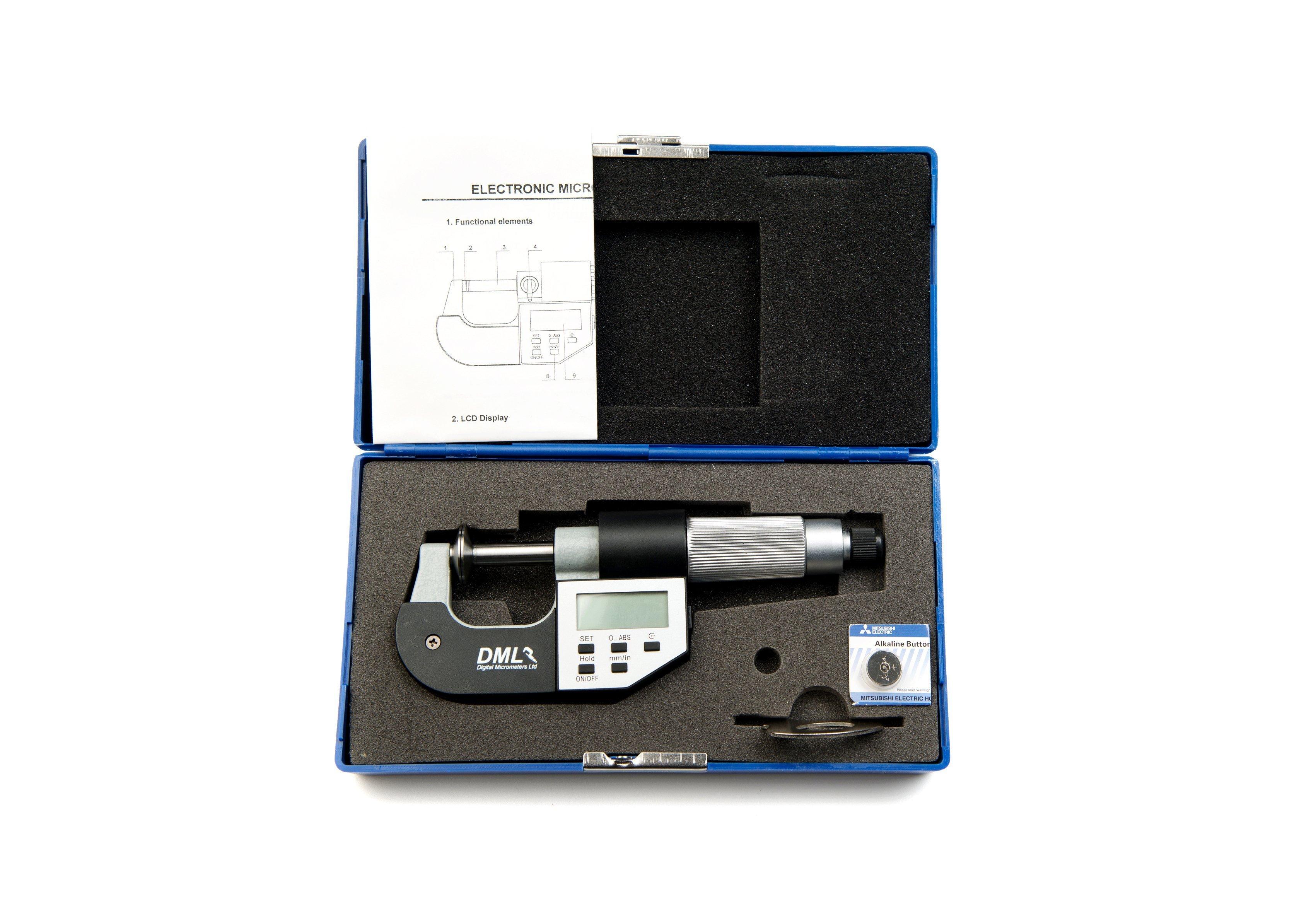 25mm Disc Micrometer DM4025PADMicrometers