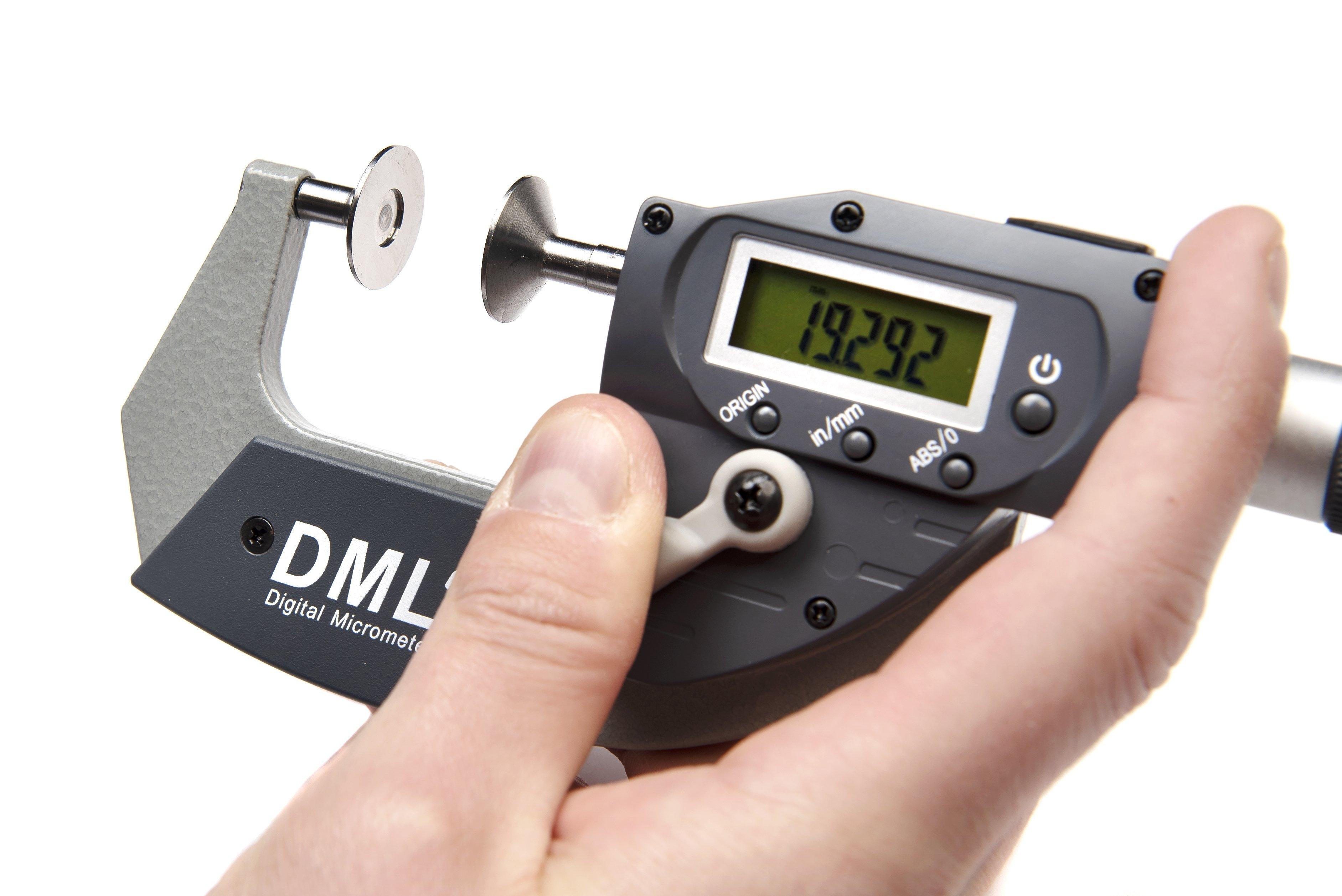 25mm Disc Snap Micrometer DM5025PADMicrometers