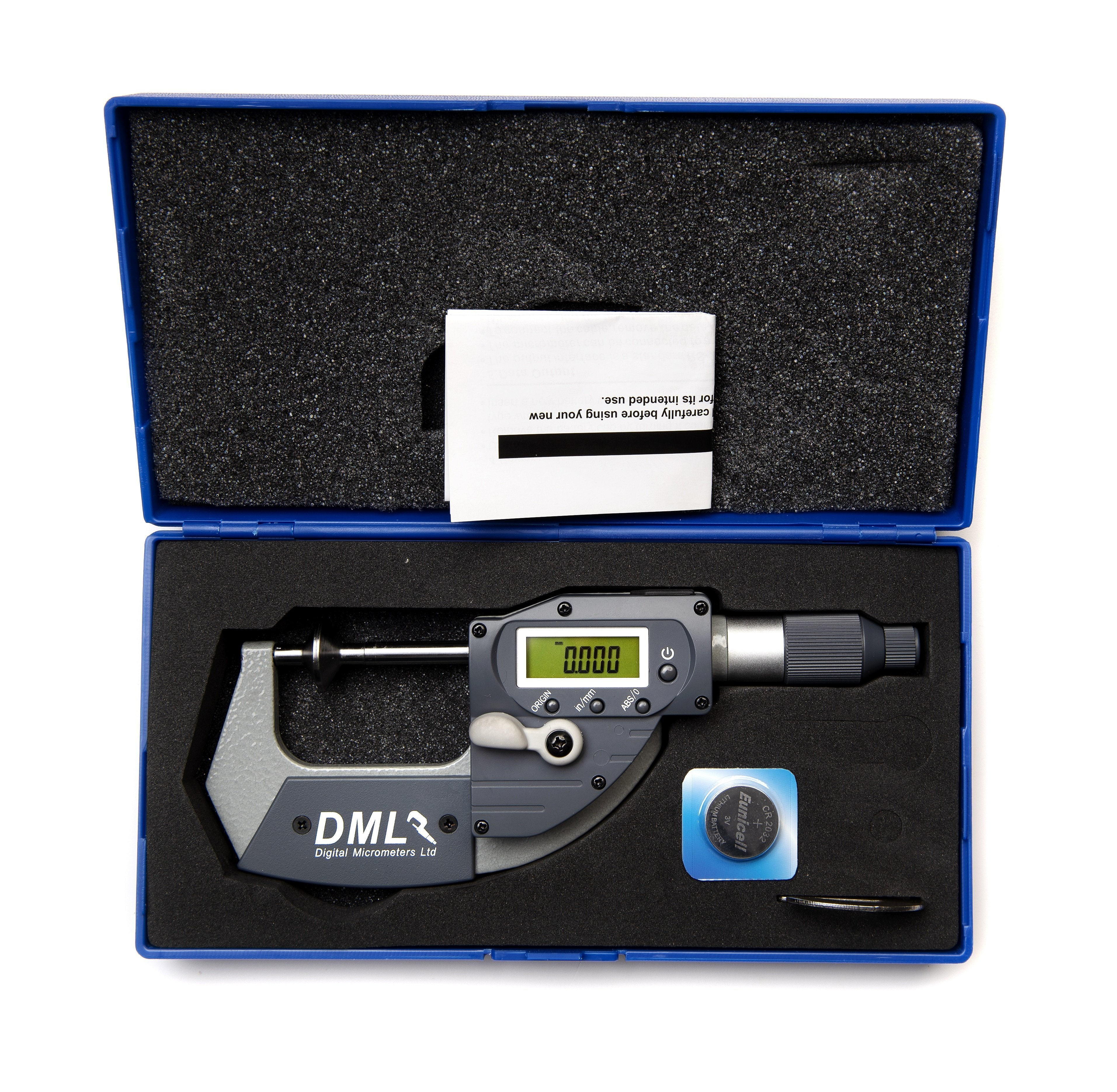 25mm Disc Snap Micrometer DM5025PADMicrometers