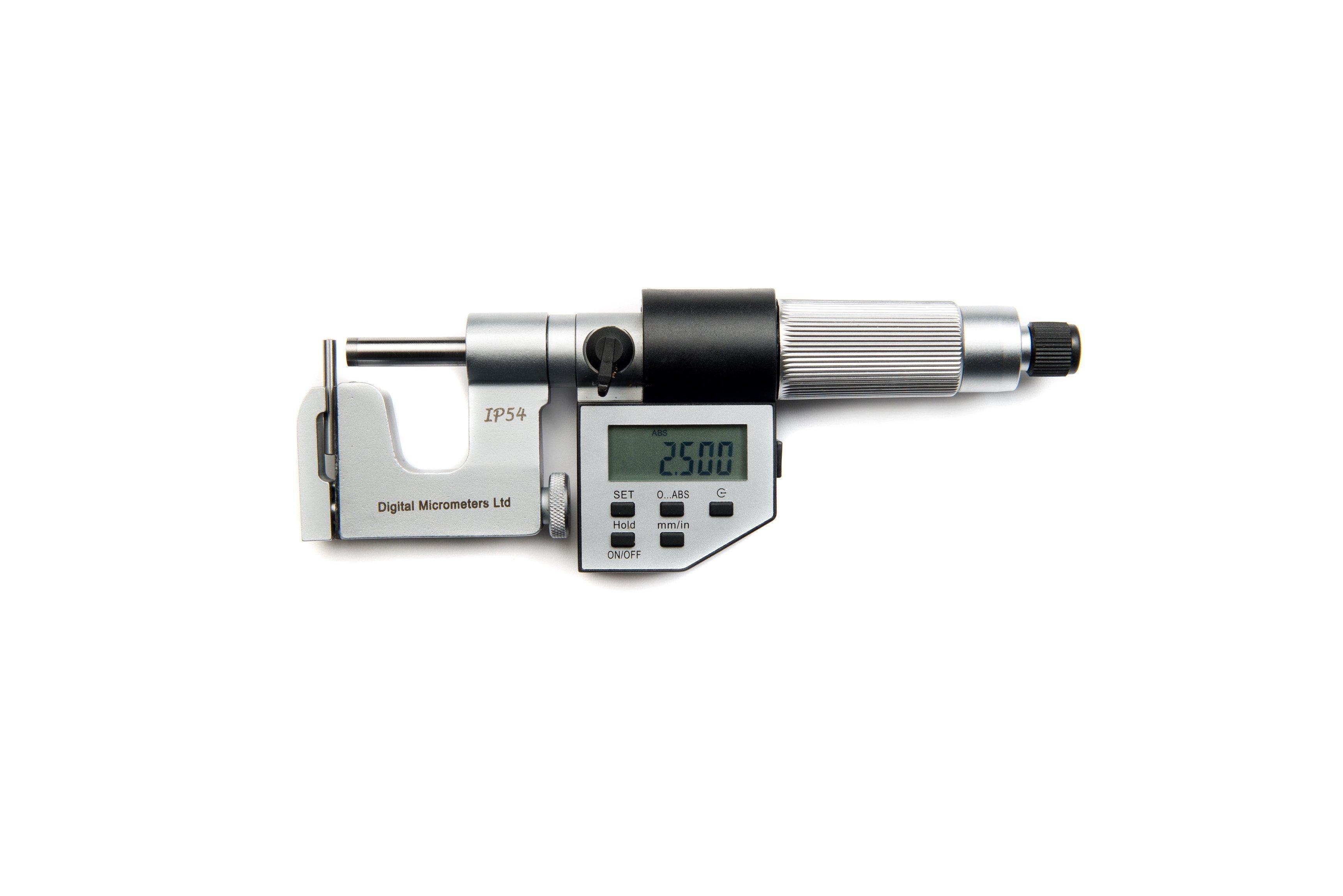 25mm Multi Anvil Micrometer DM4025SAMicrometers