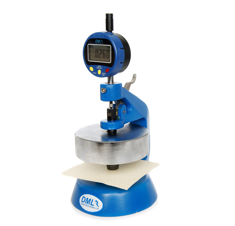 5mm Paper Thickness Gauge DML3801P - Digital Micrometers Ltd