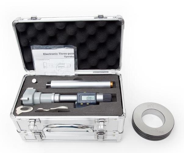 87 - 100mm Digital Bore Gauge DBG87100 - Digital Micrometers Ltd