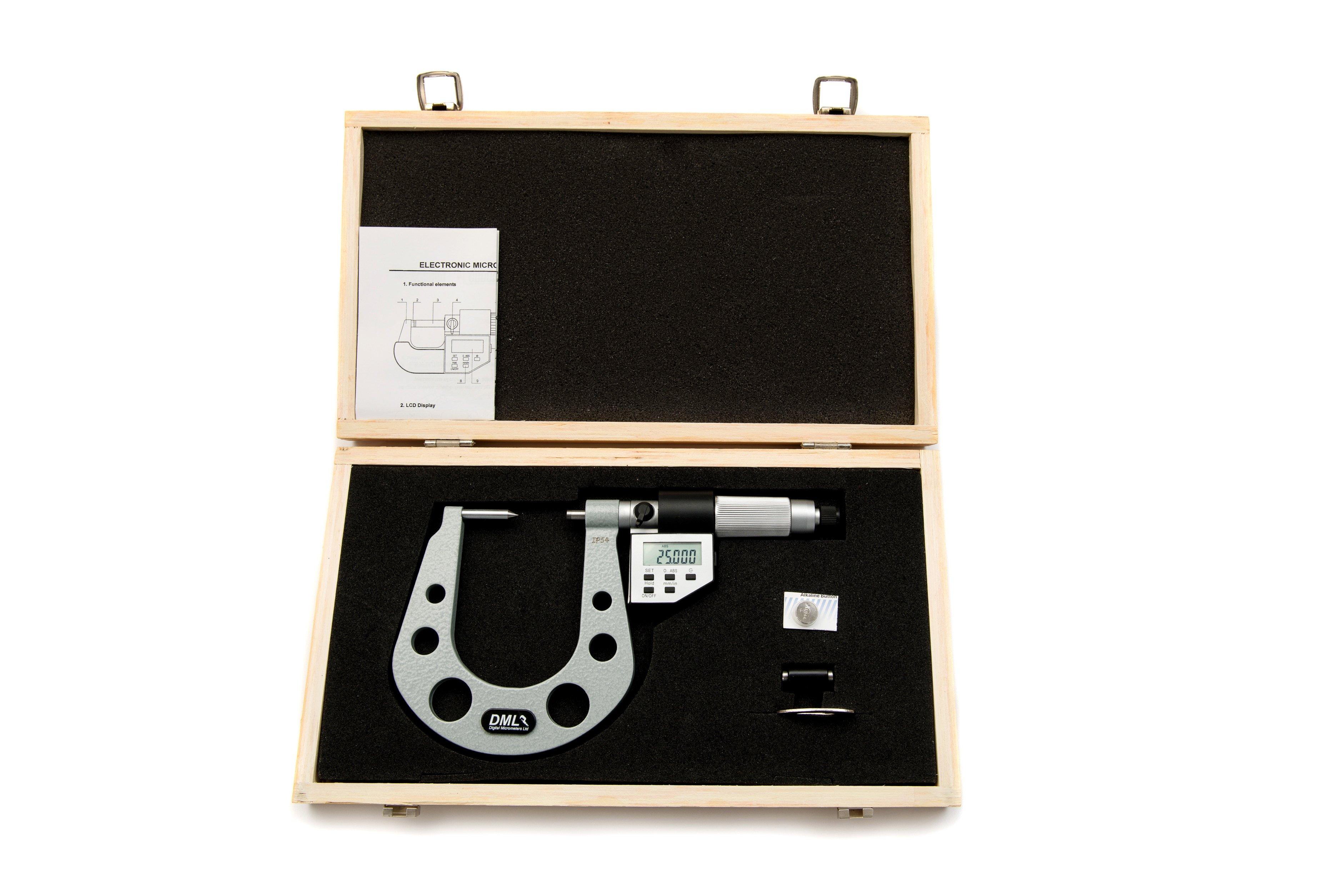 Brake Disc Micrometer DM4025BD - Digital Micrometers Ltd
