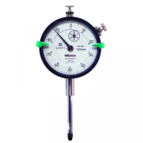 Mitutoyo 2052S Dial Indicator Lug Back 0-30mm (0.01mm)
