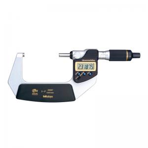 "Mitutoyo 293-182-30 QuantuMike IP65 Inch/Metric 50-75mm (2-3"") SPC Data Output"