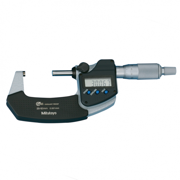 Mitutoyo 293-231-30 Digimatic Micrometer Metric IP65 With SPC Data Output 25-50mm