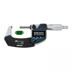"""Mitutoyo 293-331-30 Digimatic Micrometer IP65 Inch/Metric 25-50mm(1-2"""") With SPC Data Output"""