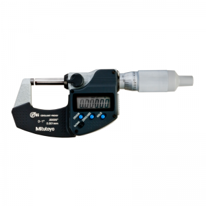 "Mitutoyo 293-334-30 Digimatic Micrometer 0-25mm (0-1"") IP65 SPC Data Output"