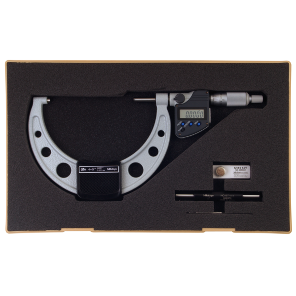 "Mitutoyo 293-350-30 Digimatic Micrometers IP65 100-125mm (4-5"") SPC Data Output"