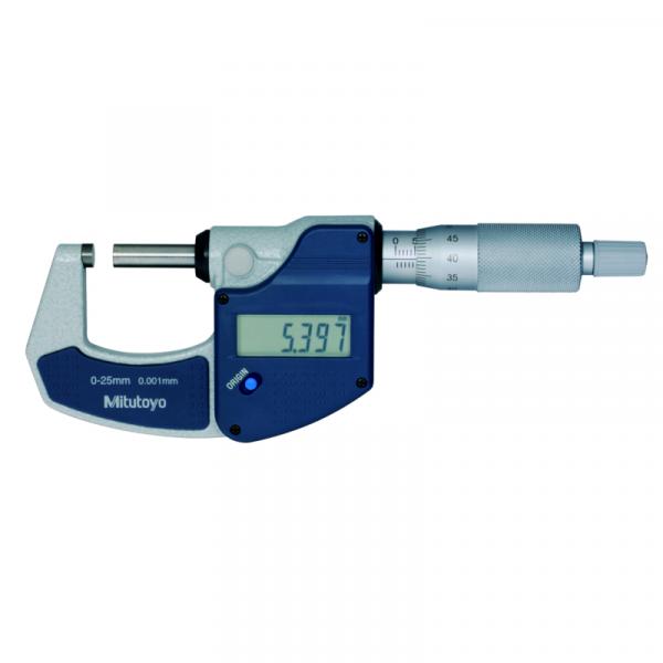 Mitutoyo 293-821-30 Digital Micrometer 0-25mm (0-1″)