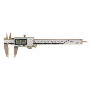 Mitutoyo 500-752-20 Digital ABS Caliper Coolant Proof IP67 Inch/Metric 0-150mm (0-6″) Thumb Ro
