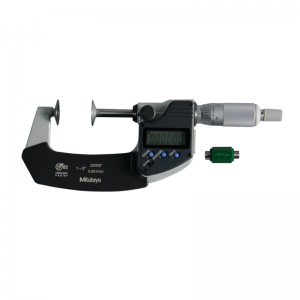 "Mitutoyo 323-351-30 Digimatic Disc Micrometers 25-50mm (1-2"") IP65 SPC Data Output"