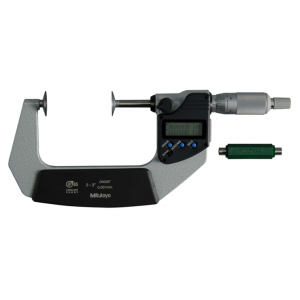 """Mitutoyo 323-352-30 Digimatic Disc Micrometers 50-75mm (2-3"""") IP65 SPC Data Output"""