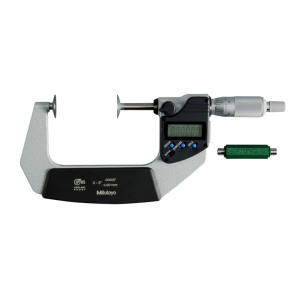 "Mitutoyo 323-352-30 Digimatic Disc Micrometers 50-75mm (2-3"") IP65 SPC Data Output"