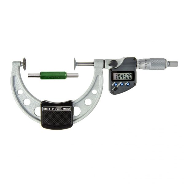 """Mitutoyo 323-353-30 Digimatic Disc Micrometers 75-100mm (3-4"""") IP65 SPC Data Output"""