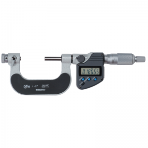 "Mitutoyo 326-352-30 Digimatic Anvil Screw Thread Micrometers 25-50mm (1-2"") SPC Data Output"