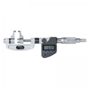 "Mitutoyo 343-351-30 Digimatic Caliper Anvil Micrometers 25-50mm (1-2"") SPC Data Output"