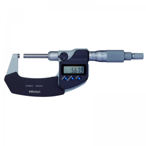 "Mitutoyo 406-350-30 Digimatic Micrometers 0-25mm (0-1"") With SPC Data Output"