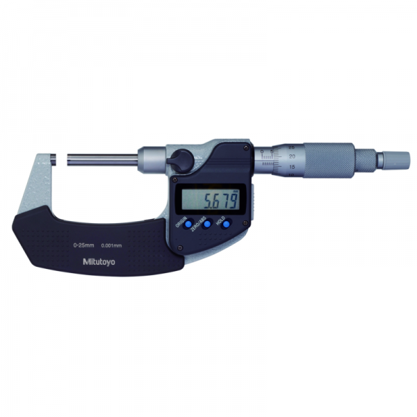 """Mitutoyo 406-350-30 Digimatic Micrometers 0-25mm (0-1"""") With SPC Data Output"""
