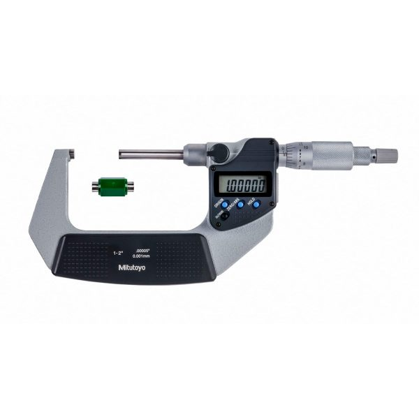 """Mitutoyo 406-351-30 Digimatic Micrometers 25-50mm (1-2"""") With SPC Data Output"""