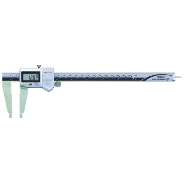 "Mitutoyo 550-311-20 ABSOLUTE Digimatic Nib Jaw IP67 Caliper 0-200mm (0-8"") SPC Data Output"