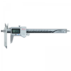 """Mitutoyo 573-701-20 ABSOLUTE Digimatic Offset Jaw IP67 Caliper 0-150mm (0-6"""") SPC Data Output"""