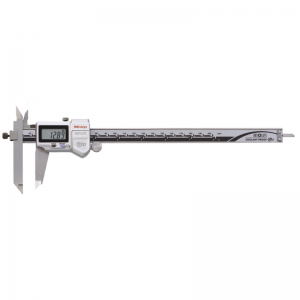 """Mitutoyo 573-702-20 ABSOLUTE Digimatic Offset Jaw IP67 Caliper 0-200mm (0-8"""") SPC Data Output"""