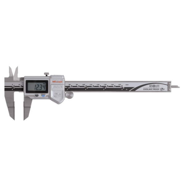 "Mitutoyo 573-734-20 ABSOLUTE Digimatic IP67 Blade Caliper 0-150mm (0-6"") SPC Data Output"