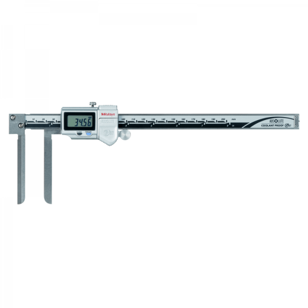 "Mitutoyo 573-742-20 ABSOLUTE Digimatic IP67 Knife Edge Inside Caliper 10-200mm (0.4-8"")"