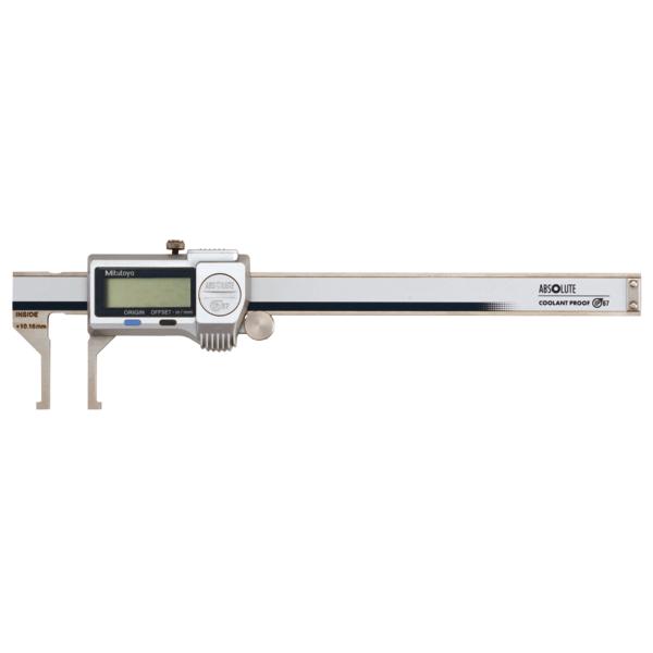 "Mitutoyo 573-745-20 ABSOLUTE Digimatic Inside Groove IP67 Caliper 10-160mm (0.4-8"")"