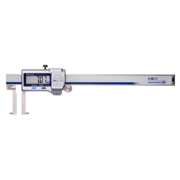 """Mitutoyo 573-746-20 ABSOLUTE Digimatic Point Jaw Inside IP67 Caliper 20-170mm (0.8-6"""")"""